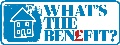 What's the benefit? logo