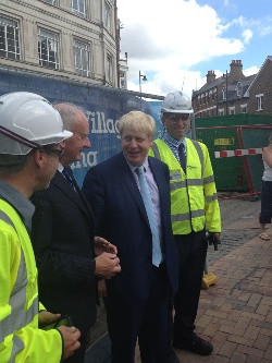 Boris Johnson on tour